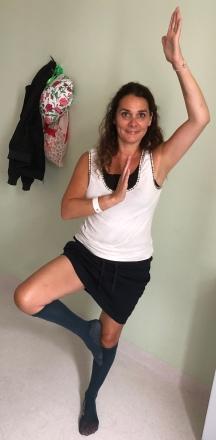 MHB adapted yoga in hospital